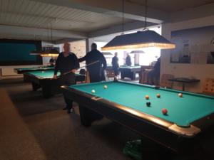 Billard spielen im Verein des PBC Düren-Nord e.V.