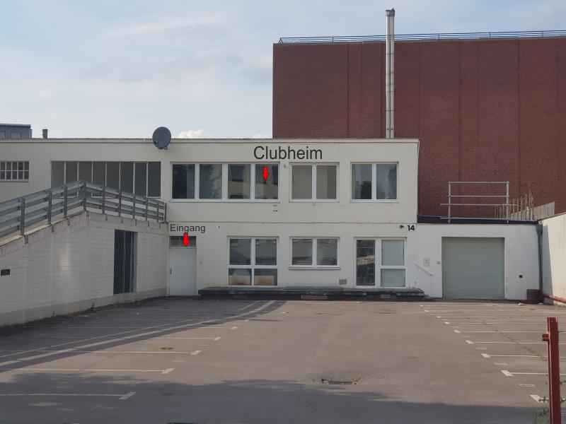 Clubheim - Location - hier findet Ihr uns